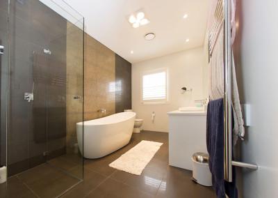 Bathroom renovation by North Shore home extension builder