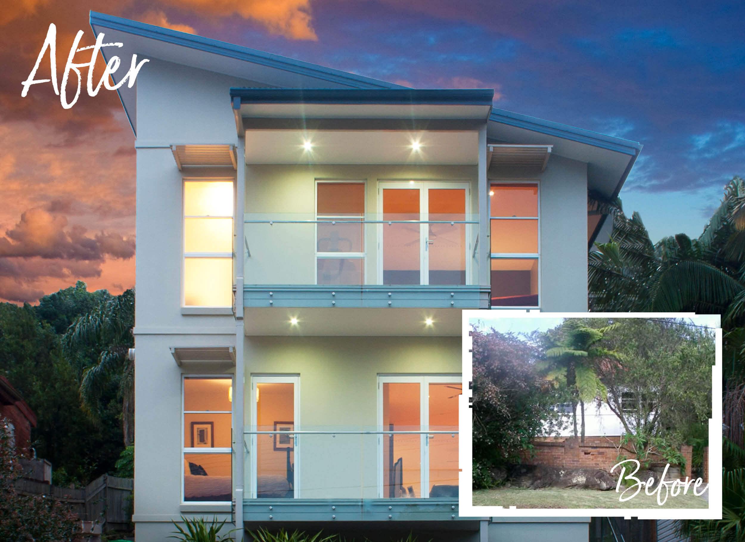 Contemporary design modern homes sydney